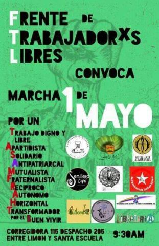 Cartel diseñado por Ricardo Guerrero de Noti-Calle.