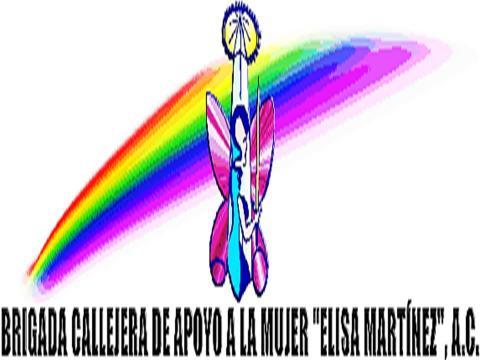 """Logo de Brigada Callejera de Apoyo a la Mujer """"Elisa Martínez"""""""
