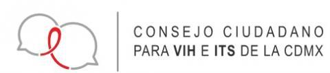 Logotipo del Consejo ciudadano para VIH e ITS de la Ciudad de México