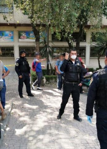Intento de detenciones arbitrarias en la Cuauhtémoc, CDMX.