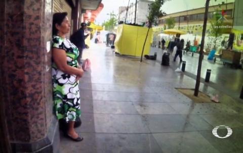 Impresión de pantalla de video de Televisa.