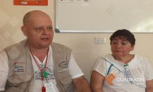 Foto de Quadratin en el centro comunitario de detección de VIH e ITS de la brigada Callejera en Tapachula, Chiapas