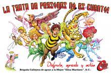 """Poster de la campaña """"Cómics contra la Trata"""""""