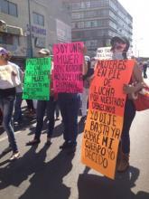 Trabajadoras sexuales: Un grito de dignidad