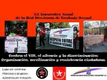 2a llamada al encuentro número 20 de la Red Mexicana de Trabajo Sexual