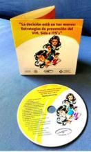 Carátula del disco compacto que contiene las 16 cápsulas informativas sobre prevención del VIH e ITS´s: Foto de Noti-Calle