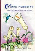 Portada de manual del condón femenino de la Brigada Callejera