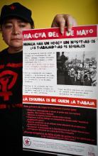 Elvira Madrid Romero, activista contra la trata de personas y la defensa de los derechos humanos, civiles y laborales de las trabajadoras sexuales desde hace 23 años.