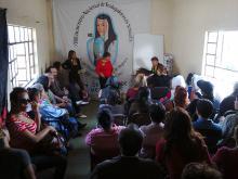 Foto del XVII encuentro nacional de la red Mexicana de Trabajo Sexual, México, D. F., 2014.