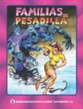 """Portada del cómic """"Familias de Pesadilla"""""""