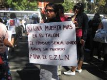 Alto a los feminicidios de trabajadoras sexuales en México y el mundo
