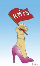 """Caricatura de """"Rocha"""", tomada del internet."""